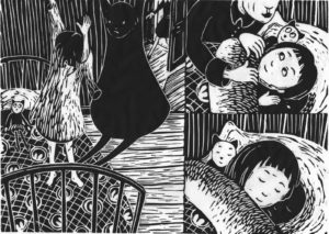 THE GIRL IN SEARCH OG HER SHADOW. NEW graphic children's picture book projekt on its way…