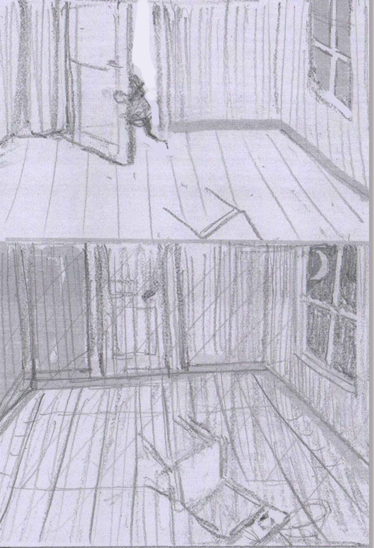 """Sketches for """"THE CHAIR"""""""