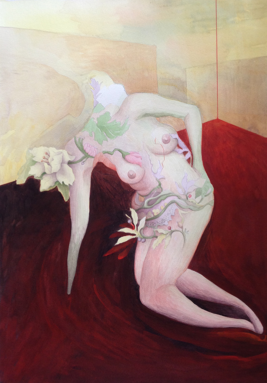 Blooming Woman 2004 33x47,5cm