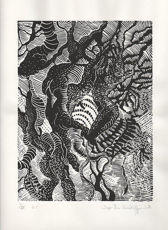 _SURREAL SCAPE 2008 23,5X31,5cm. Printed on Fabiano 50% cotton paper.Signed and numbered (Artist prints 25)