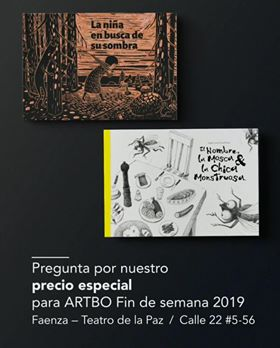 Cain Press publishing at ARTBO Bogota